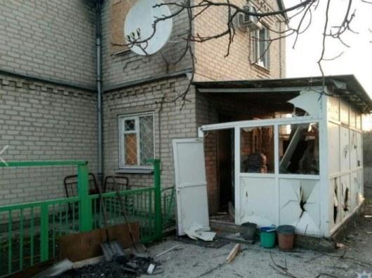 Жебривский проинформировал, что ночью боевики обстреляли личный сектор Авдеевки